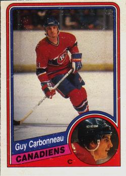 1984-85 O-Pee-Chee #257 Guy Carbonneau Front