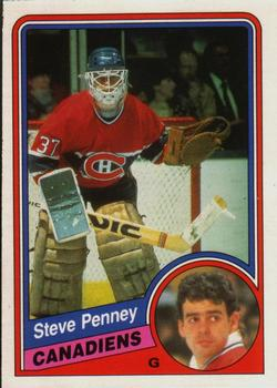 1984-85 O-Pee-Chee #269 Steve Penney Front