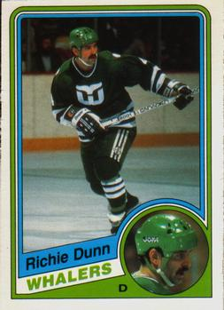 1984-85 O-Pee-Chee #69 Richie Dunn Front