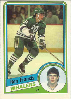 1984-85 O-Pee-Chee #70 Ron Francis Front