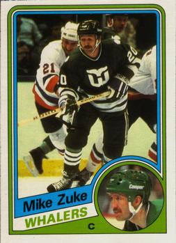 1984-85 O-Pee-Chee #80 Mike Zuke Front