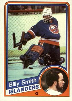 1984-85 Topps #101 Billy Smith Front