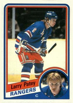 1984-85 Topps #111 Larry Patey Front