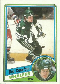 1984-85 Topps #53 Bob Crawford Front