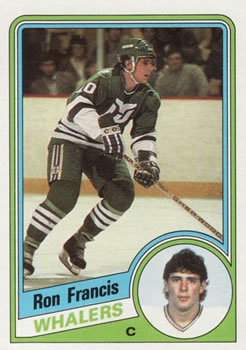 1984-85 Topps #54 Ron Francis Front