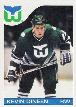 1985-86 Topps #34 Kevin Dineen Front