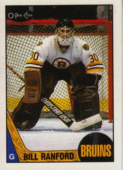 1987-88 O-Pee-Chee #13 Bill Ranford Front