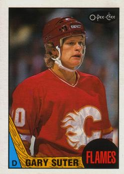 1987-88 O-Pee-Chee #176 Gary Suter Front
