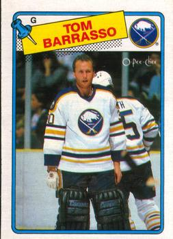1988-89 O-Pee-Chee #107 Tom Barrasso Front