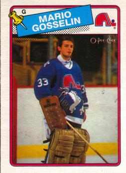 1988-89 O-Pee-Chee #173 Mario Gosselin Front