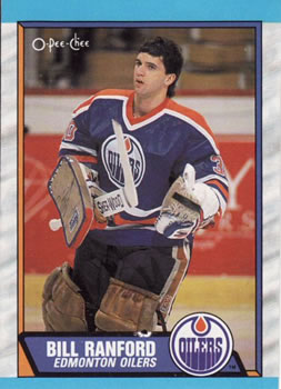 1989-90 O-Pee-Chee #233 Bill Ranford Front