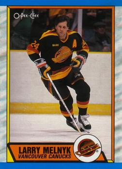1989-90 O-Pee-Chee #288 Larry Melnyk Front