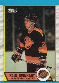 1989-90 Topps  148 Paul Reinhart af1089a00