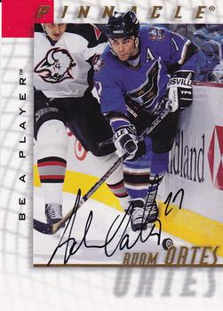 1997-98 Pinnacle Be a Player - Autographs #5 Adam Oates Front
