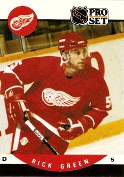 1990-91 Pro Set #436 Rick Green Front