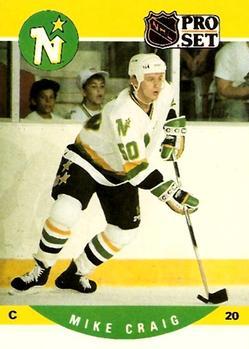 1990-91 Pro Set #613 Mike Craig Front
