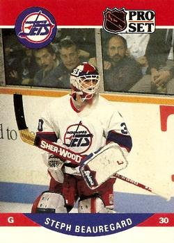1990-91 Pro Set #648 Stephane Beauregard Front