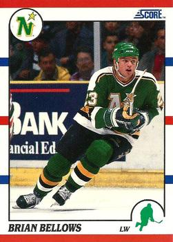1990-91 Score American #7 Brian Bellows Front