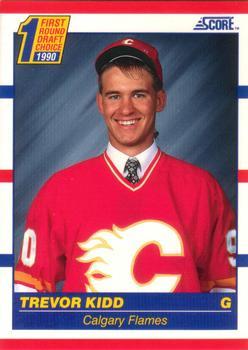 1990-91 Score American #438 Trevor Kidd Front
