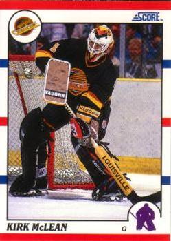 1990-91 Score American #93 Kirk McLean Front