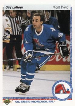 1990-91 Upper Deck #162 Guy Lafleur Front
