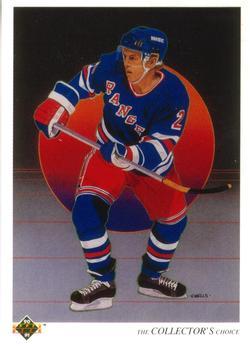 1990-91 Upper Deck #315 Brian Leetch Front