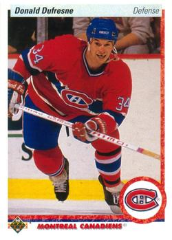 1990-91 Upper Deck #332 Donald Dufresne Front