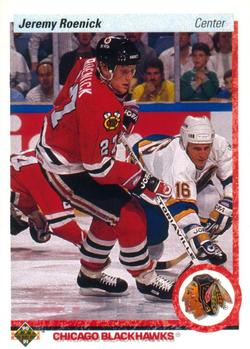 1990-91 Upper Deck #63 Jeremy Roenick Front
