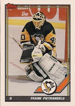 1991-92 Topps #114 Frank Pietrangelo Front