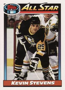 1991-92 Topps #267 Kevin Stevens Front