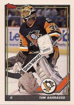 1991-92 Topps #402 Tom Barrasso Front