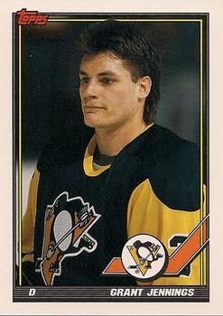 1991-92 Topps #468 Grant Jennings Front