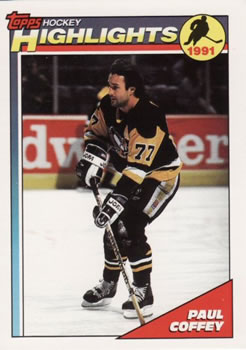 1991-92 Topps #504 Paul Coffey Front