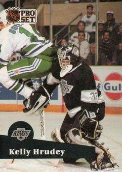 1991-92 Pro Set #102 Kelly Hrudey Front