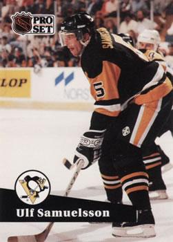 1991-92 Pro Set #459 Ulf Samuelsson Front
