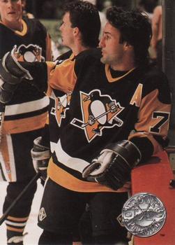 1991-92 Pro Set Platinum #94 Paul Coffey Front