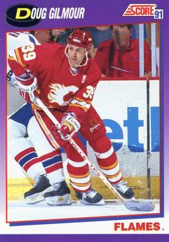 1991-92 Score American #218 Doug Gilmour Front
