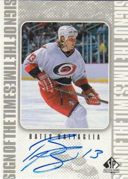 1998-99 SP Authentic - Sign of the Times #BB Bates Battaglia Front
