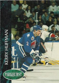 1992-93 Parkhurst #382 Kerry Huffman Front