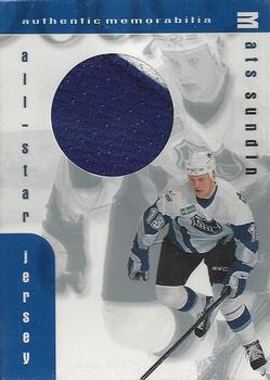 1999-00 Be a Player Memorabilia - Jersey  J5 Mats Sundin Front 53ca8ee66