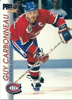1992-93 Pro Set #88 Guy Carbonneau Front