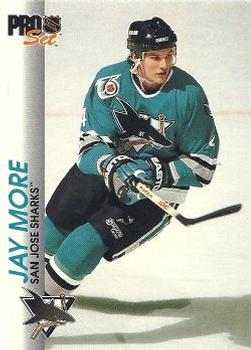 1992-93 Pro Set #169 Jay More Front