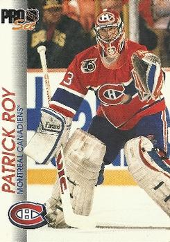 1992-93 Pro Set #85 Patrick Roy Front