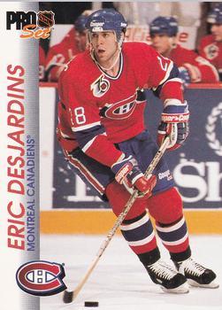 1992-93 Pro Set #86 Eric Desjardins Front