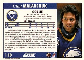 Clint Malarchuk Gallery The Trading Card Database