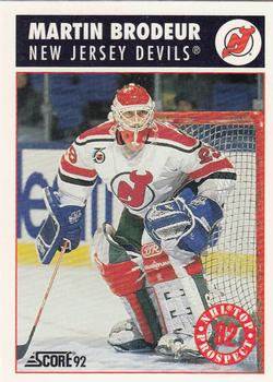 Martin Brodeur Gallery 1992 93 The Trading Card Database