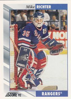 1992-93 Score #5 Mike Richter Front