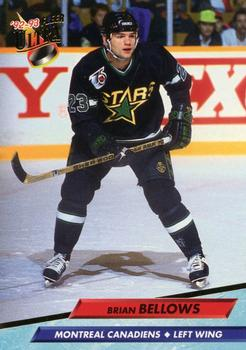 1992-93 Ultra #100 Brian Bellows Front