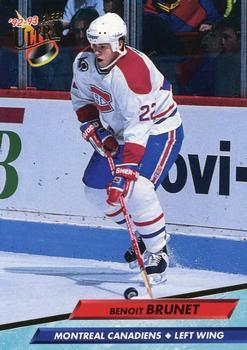 1992-93 Ultra #101 Benoit Brunet Front