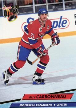 1992-93 Ultra #102 Guy Carbonneau Front